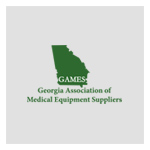 GAMES - Georgia Association for Medical Equipment Logo