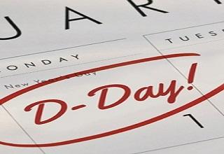 D-Day on Calendar