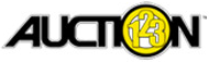 Auction123, an ARI company logo