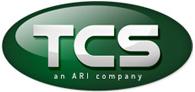 TCS, an ARI company logo