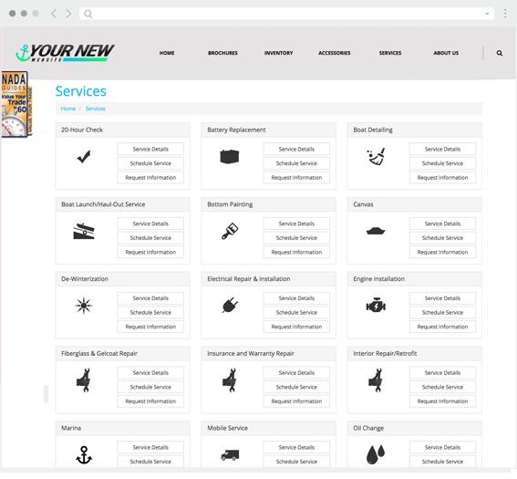 custom website for dealers like you